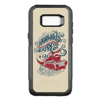 Harry Potter   Hogwarts Express Typography OtterBox Commuter Samsung Galaxy S8+ Case
