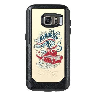 Harry Potter   Hogwarts Express Typography OtterBox Samsung Galaxy S7 Case