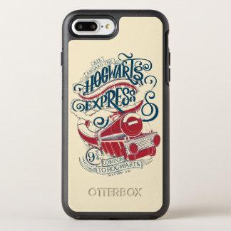 Harry Potter   Hogwarts Express Typography OtterBox Symmetry iPhone 8 Plus/7 Plus Case