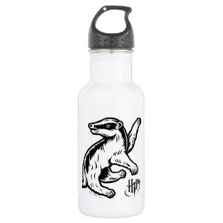 Harry Potter   Hufflepuff Badger Icon 532 Ml Water Bottle