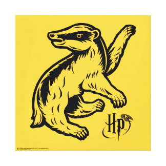 Harry Potter | Hufflepuff Badger Icon Canvas Print