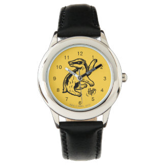 Harry Potter   Hufflepuff Badger Icon Watch