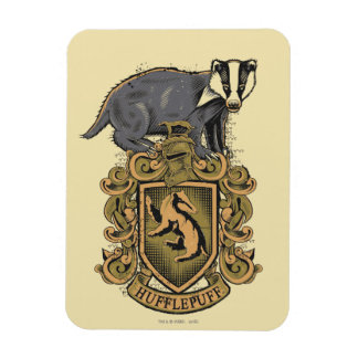 Harry Potter | Hufflepuff Crest with Badger Magnet