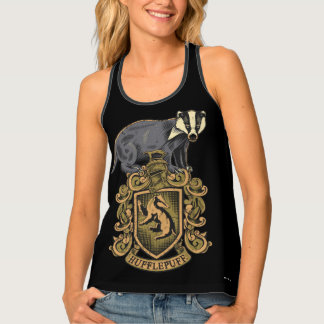 Harry Potter | Hufflepuff Crest with Badger Tank Top