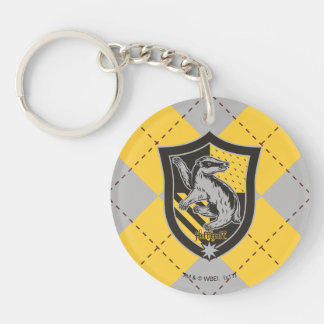 Harry Potter | Hufflepuff House Pride Crest Keychain