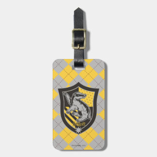 Harry Potter | Hufflepuff House Pride Crest Luggage Tag