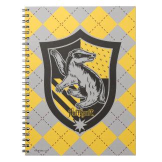 Harry Potter | Hufflepuff House Pride Crest Spiral Notebook