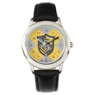 Harry Potter   Hufflepuff House Pride Crest Watch