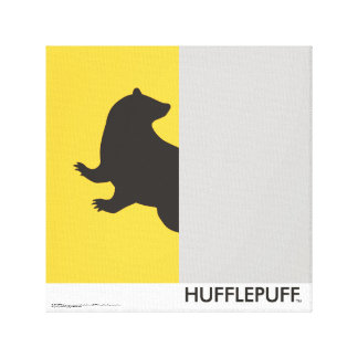 Harry Potter | Hufflepuff House Pride Graphic Canvas Print