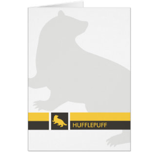 Harry Potter | Hufflepuff House Pride Graphic Card