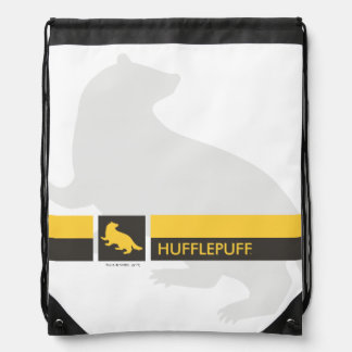 Harry Potter | Hufflepuff House Pride Graphic Drawstring Bag