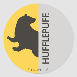 Harry Potter | Hufflepuff House Pride Graphic Round Sticker