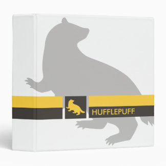 Harry Potter | Hufflepuff House Pride Graphic Vinyl Binders