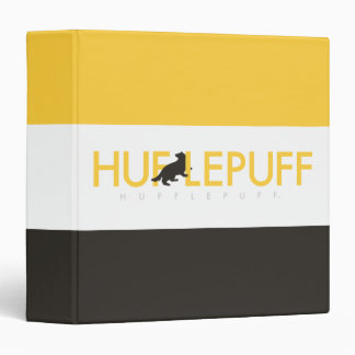 Harry Potter | Hufflepuff House Pride Logo 3 Ring Binders