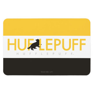 Harry Potter | Hufflepuff House Pride Logo Magnet