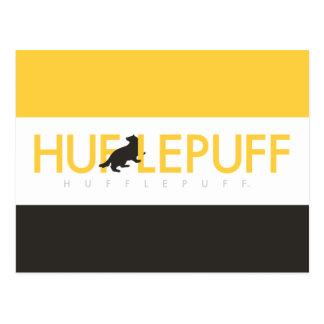 Harry Potter   Hufflepuff House Pride Logo Postcard