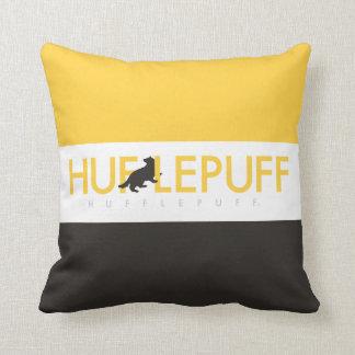 Harry Potter | Hufflepuff House Pride Logo Throw Pillow