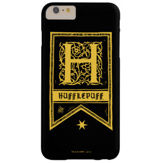 Harry Potter | Hufflepuff Monogram Banner Barely There iPhone 6 Plus Case