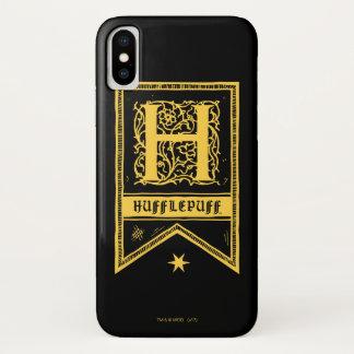 Harry Potter | Hufflepuff Monogram Banner iPhone X Case