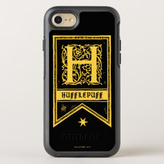 Harry Potter | Hufflepuff Monogram Banner OtterBox Symmetry iPhone 8/7 Case
