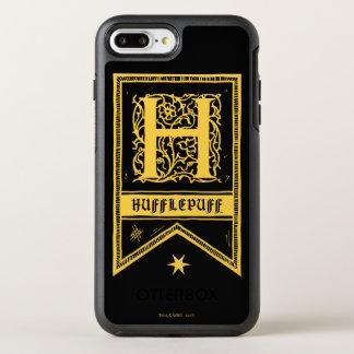 Harry Potter | Hufflepuff Monogram Banner OtterBox Symmetry iPhone 8 Plus/7 Plus Case