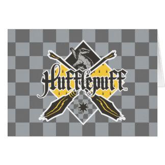 Harry Potter | Hufflepuff Quidditch Crest Card