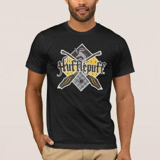 Harry Potter   Hufflepuff Quidditch Crest T-Shirt