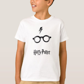 Harry Potter | Lightning Scar and Glasses T-Shirt