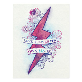 Harry Potter | Love Leaves Its Own Mark Postcard