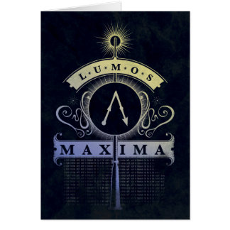 Harry Potter | Lumos Maxima Graphic Card
