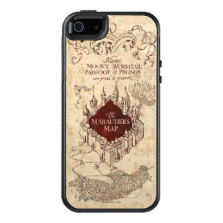 Harry Potter   Marauder's Map OtterBox iPhone 5/5s/SE Case