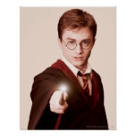 Harry Potter Points Wand Poster
