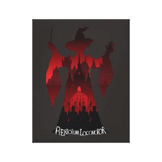 Harry Potter | Professor McGonagall's Statue Army Canvas Print