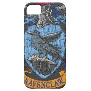 Harry Potter   Ravenclaw Crest - Destroyed iPhone 5 Cover