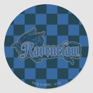 Harry Potter | Ravenclaw Eagle Graphic Classic Round Sticker