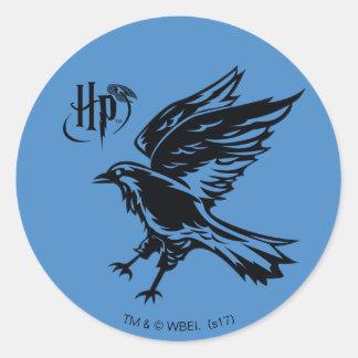 Harry Potter | Ravenclaw Eagle Icon Classic Round Sticker