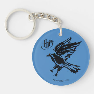 Harry Potter | Ravenclaw Eagle Icon Double-Sided Round Acrylic Keychain