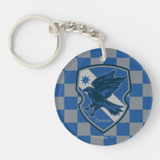 Harry Potter | Ravenclaw House Pride Crest Double-Sided Round Acrylic Keychain