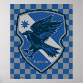 Harry Potter   Ravenclaw House Pride Crest Poster