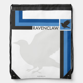 Harry Potter | Ravenclaw House Pride Graphic Drawstring Bag