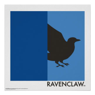 Harry Potter   Ravenclaw House Pride Graphic Poster