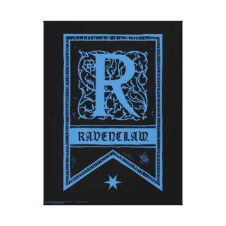 Harry Potter | Ravenclaw Monogram Banner Canvas Print