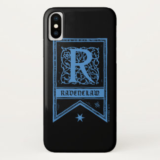Harry Potter | Ravenclaw Monogram Banner iPhone X Case