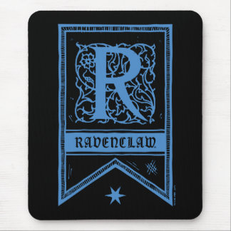 Harry Potter | Ravenclaw Monogram Banner Mouse Pad