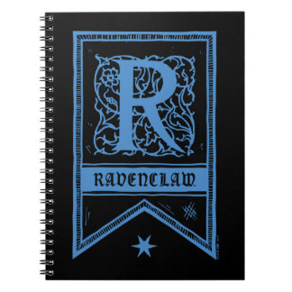 Harry Potter | Ravenclaw Monogram Banner Note Book