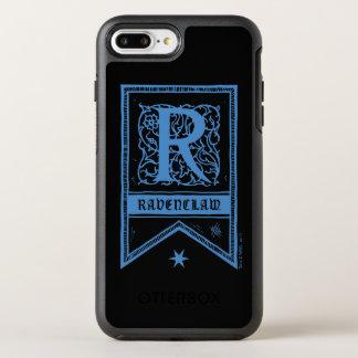 Harry Potter | Ravenclaw Monogram Banner OtterBox Symmetry iPhone 8 Plus/7 Plus Case