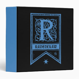 Harry Potter | Ravenclaw Monogram Banner Vinyl Binders