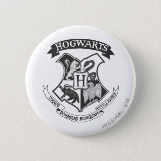 Harry Potter | Retro Hogwarts Crest 2 Inch Round Button