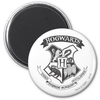 Harry Potter | Retro Hogwarts Crest Magnet