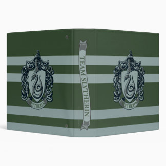 Harry Potter | Retro Mighty Slytherin Crest Vinyl Binder